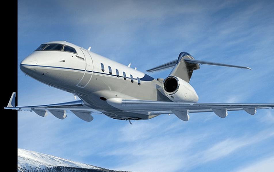 Bombardier-Challenger-350-Left
