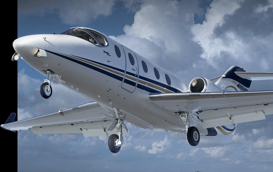 Hawker-400xp-Left